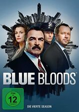 6 DVDs * BLUE BLOODS - STAFFEL / SEASON 4 | TOM SELLECK # NEU +