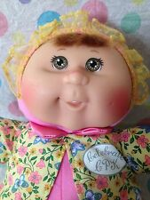 Cabbage Patch Kids Jakks Pacific Baby Brown Eyes Red Hair Soft Pink Body