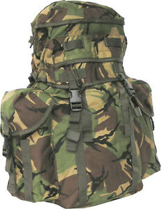 British Army Northern Island Military Patrol Assault Pack Rucksack DPM Green 38L