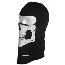 Schampa Skull Black Balaclava -Traditional Lightweight