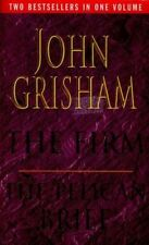 JOHN GRISHAM - 2 THRILLERS - THE FIRM/THE PELICAN BRIEF - COMBINE POSTAGE/SAVE!