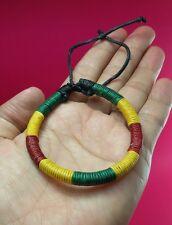 Bob Marley Rasta Reggae Bracelets Surfer Friendship Bracelet Jamaica Hippie Boho