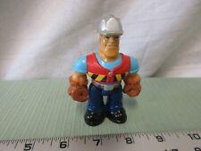 Fisher Price Husky Helper construction man dad truck driver bulldozer worker