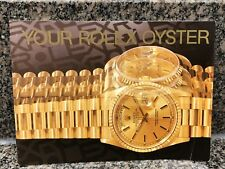 YOUR ROLEX OYSTER BOOKLET DATED 1995 Ref 579.52 Eng - 100 - 1.1995