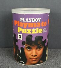 Vintage 1968 Playboy Playmate Jigsaw Puzzle #AP112 Collinson Twins Complete