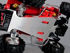 Aluminum Side Rail Bar+ Chassis Plate Tamiya 1/10 R/C Monster Beetle Blackfoot