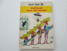 LUCKY LUKE TORTILLAS POUR LES DALTON T31 REEDITION BROCHEE 1970 BE/TBE