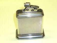 SERBATOIO eldro (Drollinger) semi-automatic lighter W. 835 SILVER Case-Germany