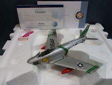 Franklin Mint F-86E Sabre Operation Boomerang USAF California Aircraft 1:48 F2