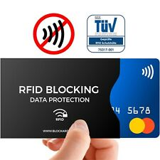 TÜV geprüfte NFC Schutzhülle (12 Stück) für Kreditkarte - Bankkarte - Ausweis