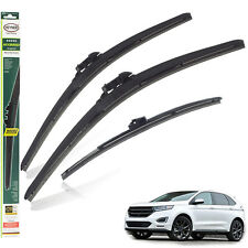 """Ford Edge 2015+ replacement set FRONT & REAR wiper blades 28"""" 28"""" PT 15""""F"""