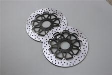 Float Front Brake Disc Rotors Fit For Suzuki GSXR600/750/1000 GSX1300R TL1000R/S