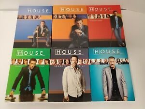 House MD Series Season 1-6 Seasons 1 2 3 4 5 6 DVD   FREE SHIPPING !!!
