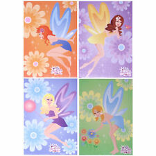 8 x Cute Pretty Mini Fairy Notebooks - Girls Party Bag Fillers