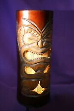 "Bamboo Tiki Table Lamp 10"" kane"