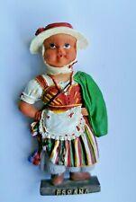 Spain Espana Girl Dancer 3D Resin Tourist Travel Souvenir Holiday Fridge Magnet