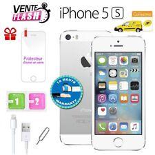 Apple iPhone 5s 16go unlocked DÉBLOQUÉ Téléphones Mobile - Argent FR