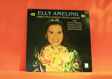 ELLY AMELING - CHRISTMAS SONGS FROM EUROPE - PETERS - EX VINYL LP RECORD -R