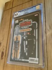 Star Wars War Of The Bounty Hunters #4 JTC Action Figure Variant Cover CGC 9.8
