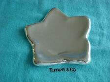 TIFFANY sterling silver ~ PERETTI STAR DISH TRAY ~ BON NUT MINT TRINKET~2 AVAIL