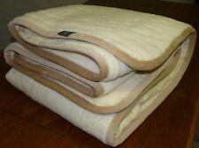 Couverture pure laine dans couvertures pour le lit   eBay 921bb5f4717