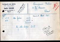 """PARIS (XIII°) FUTAILLES / FUTS """"Camille GASCARD"""" en 1947"""