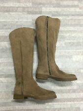 Franco Sarto Caydee WC Leather Knee High Boots Color Brown Size: 6M US / EUR 36