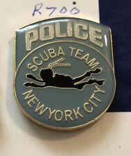 New York City Police Scuba Team Pin