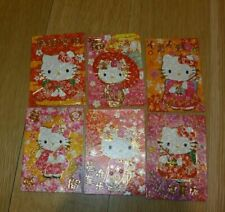 24pcs New Chinese New Year Hello Kitty Red Envelope Japanese Kimono Usa Seller