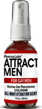 The Secret to ATTRACT GAY MEN **ALL NIGHT** SCENT SEX PHEROMONES MAN COLOGNE 1oz