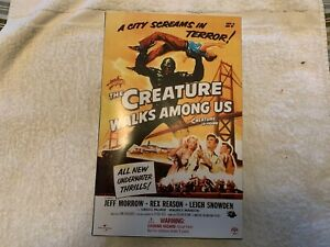 "2003 - SIDESHOW ""THE CREATURE WALKS AMONG US"" 12"" Figure. NEW in BOX!!!"