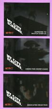 The Spirit Movie: My City Screams -  3 Card Foil Set MC1-MC3 - Inkworks