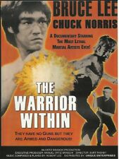 """THE WARRIOR WITHIN"" - A TRIBUTE TO BRUCE LEE/CHUCK NORRIS (NEW DVD) BY BRASCHI"