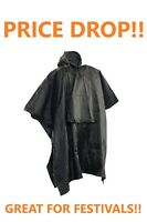 *Shellbrook Rain Poncho by Deerhunter **100% Waterproof/Re-usable** Festivals