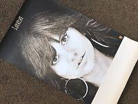 "Linda Ronstadt LINDA Original 1971 CONCERT TOUR BLANK / PROMO POSTER / 36"" X 22"""