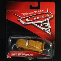 """""""Lightning McQueen As Chester Whipplefilter"""" - Disney/Pixar Cars 3 Mattel 1:55"""