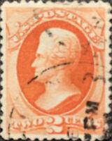 Vintage Scott #183 US 1879 2 Cent Jackson Bank Note Stamp