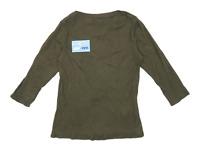 Dorothy Perkins Womens Size 16 Textured Cotton Green Top (Regular)