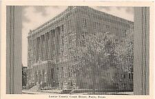 Lamar County Court House in Paris TX Postcard
