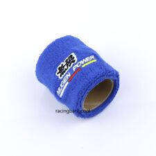 1 PCS Racing Blue Mugen JDM Car Reservoir Tank Oil Cover Sock Racing Tank Sock