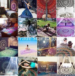 Mandala Twin Tapestry Cotton Table Cloth Hippie Beach Throw Wholesale lot 10 Pcs
