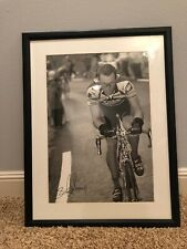 Lance Armstrong Autographed Framed Poster