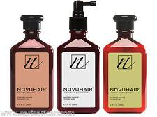 Cocozen NOVUHAIR Shampoo Conditioner Lotion Prevents Treats Hair Loss Thinning