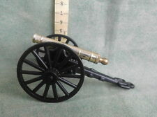 Vintage GP 373 ITALY Military Toy Cannon Cast Iron Metal 2.5