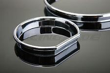 Tachoringe Set chromline chrom glänzend für 3er BMW E46 Compact auch M3