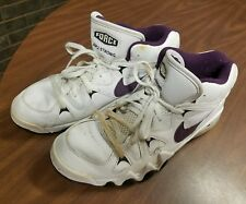 Nike force Air 2 strong shoes size 11 purple white and black