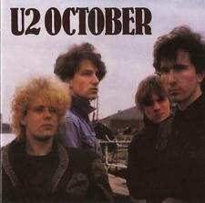 U2 October 2CD set Deluxe Remastered