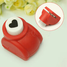 Heart Paper Craft Stamp Hole Punch Scrapbook Tag Handmade Crafts Small Size DIY