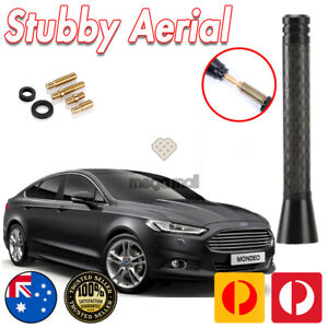 FOR FORD TRANSIT CONNECT FOCUS FIESTA MONDEO PUMA ANTENNA AERIAL BLACK CARBON