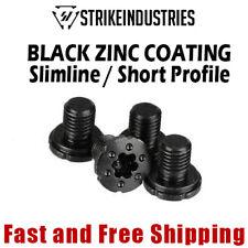 Strike Industries 1911 Torx Pistol Grip Screws -Black Zinc Coating -Slim (4 PC)